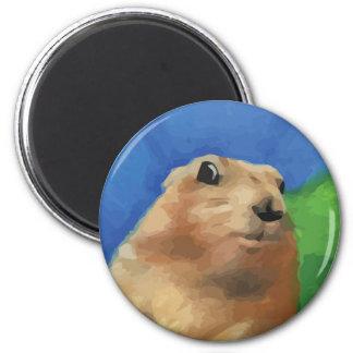 Dramatic Chipmunk Magnet