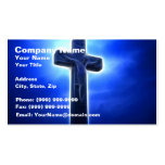 Dramatic Jesus Crucifixion Business Cards
