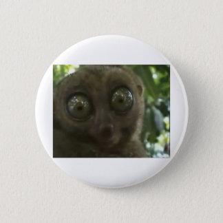Dramatic Lemur 6 Cm Round Badge