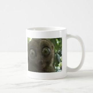 Dramatic Lemur Basic White Mug