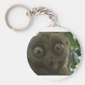 Dramatic Lemur Key Ring