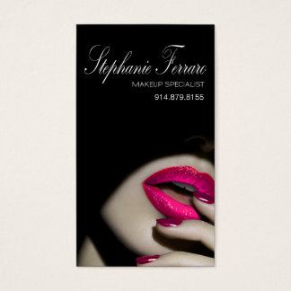 Dramatic Lips Makeup Artist | cerise Business Card