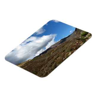 Dramatic Mountain 15 Rectangle Magnet