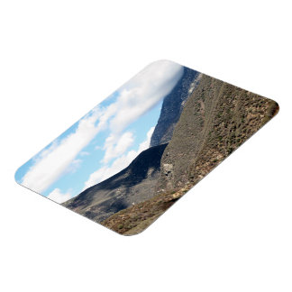 Dramatic Mountain 17 Rectangle Magnet