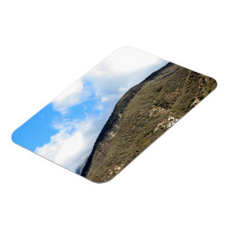 Dramatic Mountain 5 Rectangle Magnets