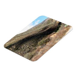 Dramatic Mountain 6 Rectangular Magnet