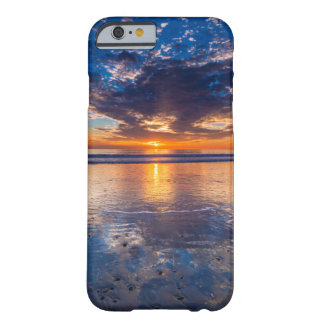 Dramatic seascape, sunset, CA Barely There iPhone 6 Case