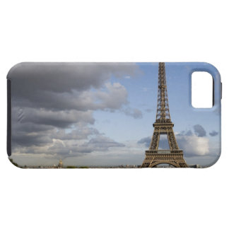 dramatic sky behind Eiffel Tower iPhone 5 Covers