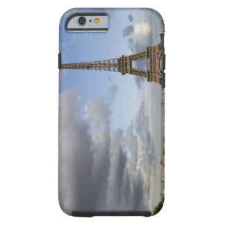 dramatic sky behind Eiffel Tower Tough iPhone 6 Case