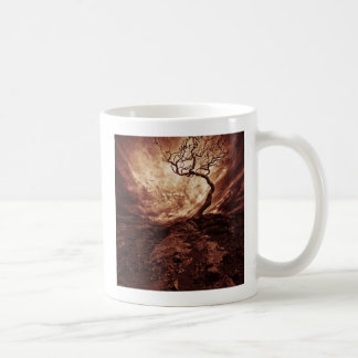 Dramatic Sky Over Old Lonely Tree Coffee Mug