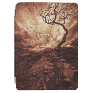 Dramatic Sky Over Old Lonely Tree iPad Air Cover