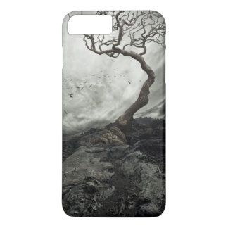 Dramatic sky over old lonely tree iPhone 8 plus/7 plus case