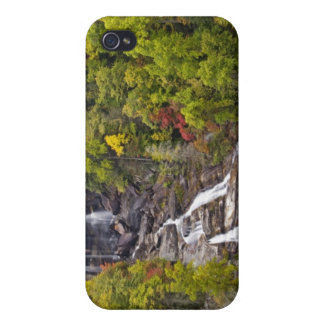 Dramatic Whitewater Falls in autumn in the iPhone 4/4S Cover