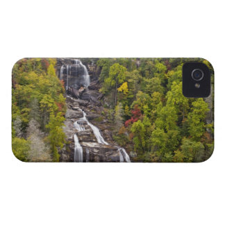 Dramatic Whitewater Falls in autumn in the iPhone 4 Cover