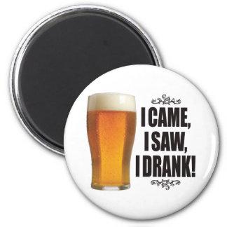 Drank Beer Magnet