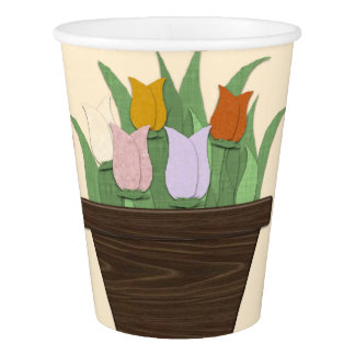 drank well paper cup