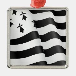 Drapeau breton (Breton flag) Christmas Ornament
