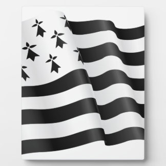 Drapeau breton (Breton flag) Display Plaque