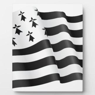 Drapeau breton (Breton flag) Plaque