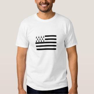 drapeau de la Bretagne Gwenn ha du Breton Flag Tshirt