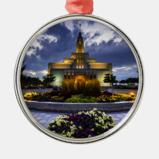 Draper Mormon Lds Temple - Utah Christmas Ornament