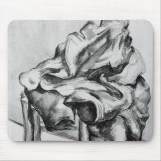Drapery on a Chair, 1980-1900 Mouse Mat