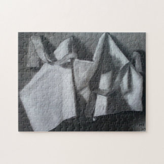 Drapery/Ribbon Study Jigsaw Puzzle