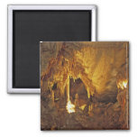 Drapery Room, Mammoth Cave National Park, Square Magnet