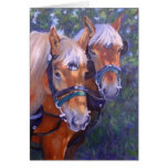 Draught   Horses Card