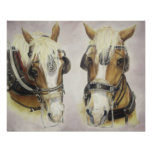 Draught   Horses Poster