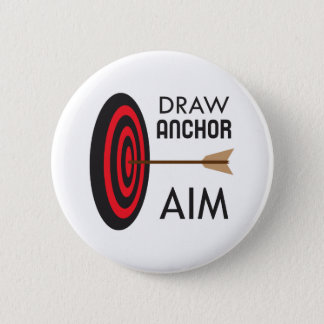 DRAW ANCHOR AIM 6 CM ROUND BADGE