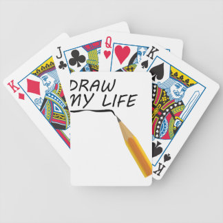 Draw my life bicycle playing cards