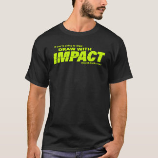 Draw with Impact mens tshirt-dark T-Shirt