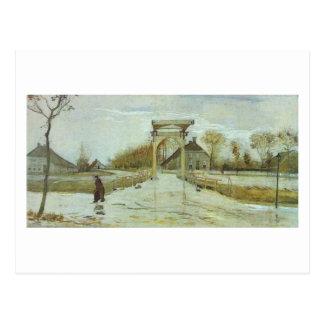 Drawbridge in Nieuw-Amsterdam, Vincent van Gogh Postcard