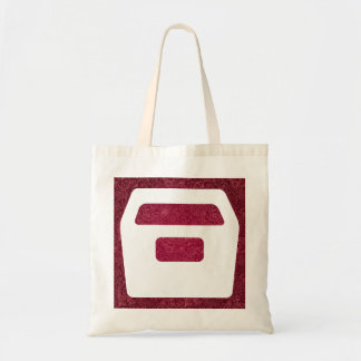 Drawer Boxes Icon Budget Tote Bag