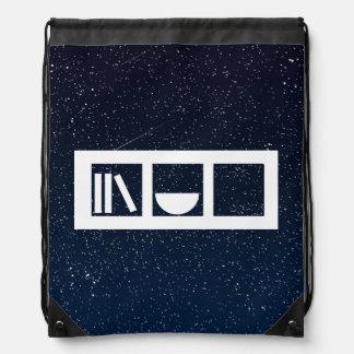 Drawer Utensils Graphic Drawstring Bags