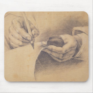 Drawing Hands, 1798 Mouse Pad