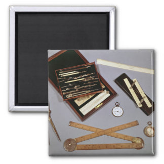 Drawing instruments used by Isambard Magnet