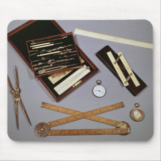 Drawing instruments used by Isambard Mouse Mat