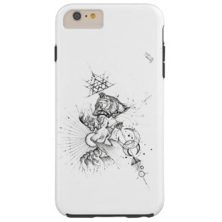 drawing made by Art' S Line Tough iPhone 6 Plus Case