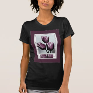 Drawing Near Purple Tulips T-Shirt