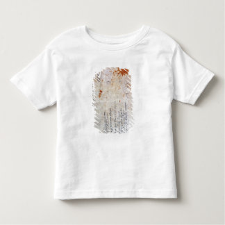 Drawing of an Urn and Figure with Notes Toddler T-Shirt