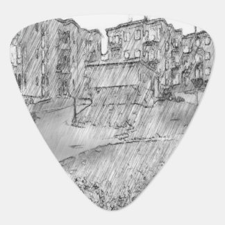 Drawing of apartment plectrum