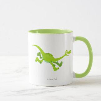Drawing of Arlo Running Mug