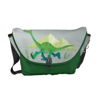 Drawing of Arlo Walking Messenger Bags