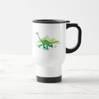 Drawing of Arlo Walking Travel Mug