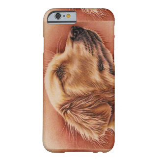 Drawing of Golden Retriever on Phone Case