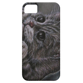 Drawing of Kitten on iPhone 5 Case