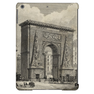 Drawing of Porte Saint-Denis Monument iPad Air Covers