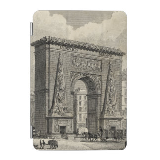 Drawing of Porte Saint-Denis Monument iPad Mini Cover